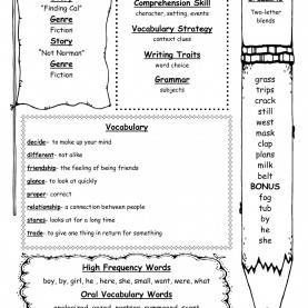 Good 2Nd Grade Lesson Plans For Reading Comprehension Wonders Second Grade Unit One Week Three Print