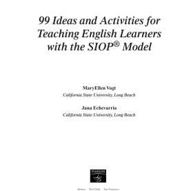 Good 99 Ideas And Activities For Teaching English Learners 99 Ideas And Activities For Teaching English Learners With Th
