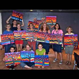 Good Art Class Ideas For Adults Canvas Painting Ideas For Classes - Pilotproject