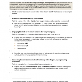 Good Edtpa Task 4 Commentary Examples Instruction Commentary Temp