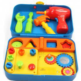 Good Educational Tools For 2 Year Olds Amazon.Com: Kidoozie Cool Toys Tool Set - Includes Audio Response