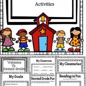 Good First Week Of School Lesson Plans 2Nd Grade Back To School Activities For Second Grade | Activities, Student