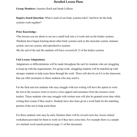 Good Sample Of 4A'S Lesson Plan In Science Detailed Lesson P