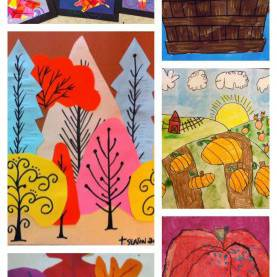 Great Autumn Projects For School 12 Amazing Fall Art Projects To Try Right Now | Fall Art Project