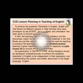 Great English Lesson Plan Cce 21St C English Teaching Cce Lesson Plans Prose - You