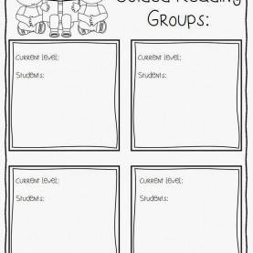 Great Guided Reading Record Sheet Guided Reading - First Grade Centers And