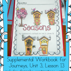 Great Journeys 1St Grade Reading Lesson Plans Journeys 1St Grade Seasons | Journeys Reading Series, Curriculu