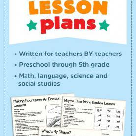 Great Math Lesson Plans For Preschoolers Look To Lakeshore For Free Lesson Plans For Language, Mat