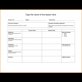 Great Middle School Lesson Plan Template Doc 22 Will Template Doc, Lesson Plan Template Doc Great Printabl