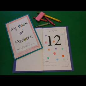 Great Number Books For Preschoolers Make-Your-Own Tactile Number Book   Preschool Books, Number And