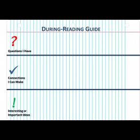 Great Reading Guide Template Anthony Cafaro - Warner Middle Sc