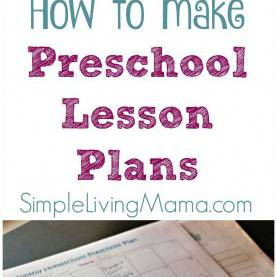 Interesting Child Care Lesson Plans For Teachers How To Make Preschool Lesson Plans | Homeschool, Learning And Sc
