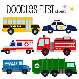 Interesting Community Helpers Vehicles Vehicle Clipart Community Helper - Pencil And In Color Vehicl