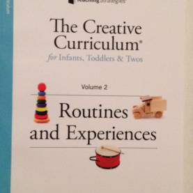 Interesting Curriculum For Toddlers And Twos Creative Curriculum For Infants, Toddlers And Twos: Diane Triste