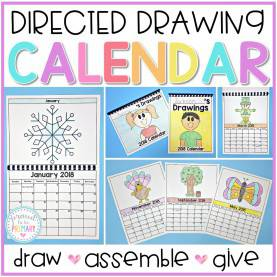 Interesting Directed Drawing Lessons Directed Drawings In The Classroom - Proud To Be Pri