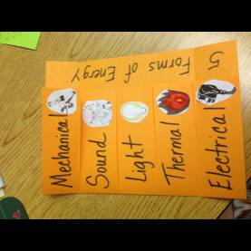 Interesting Energy Lesson Plans For 4Th Grade 5 Tab Foldable 5 Forms Of Energy | Fifth Grade Science | Pinteres