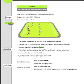 Interesting Fun Lesson Plans For Elementary 6 Free Kindergarten €? Grade 2 Pe Sport Lesson Tip & Tag Game