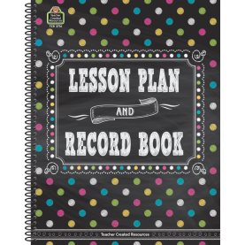 Interesting Lesson Plan And Record Books For Teachers Chalkboard Brights Lesson Plan And Record Book - Tcr3716 | Teache