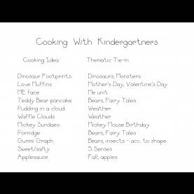 Interesting Lesson Plan For Preschool Cooking Cooking Ideas | Kindergarten