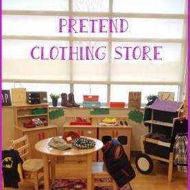 Interesting Lesson Plans For Preschool Dramatic Play Pre-K Tweets: Clothing Store | Pretend Play | Pinterest | Stor