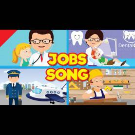 Interesting Occupation Games For Preschool Jobs Song For Kids | What do You Do? | Occupations | Kindergarte