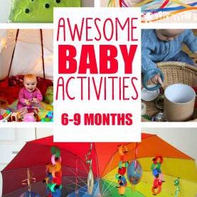 Newest Activities For Mobile Infants 20+ Fun & Easy Baby Activities - Busy Tod