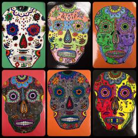 Newest Art Lesson Plans Day Of The Dead Day Of The Dead / Halloween Art Lesson Plan - Dia Des Muerto