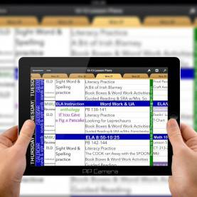 Newest Electronic Lesson Plan Book Electronic Day Planner | Your Templa