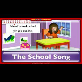 Newest English Songs For School School Song. Learn English With Teachkidsenglish.Com - You
