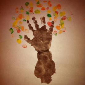 Newest Fall Crafts For 3 Year Olds Birthday Crafts For One Year Olds | ... Autumn Tree The On