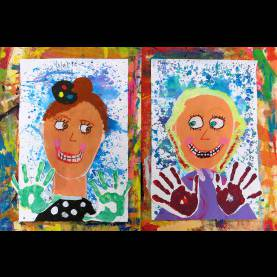 Newest First Grade Art Cassie Stephens: In The Art Room: I Ain'T Gonna Paint No Mor