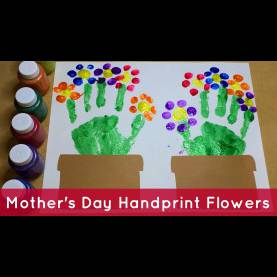 Newest Flower Lesson Plans For Toddlers Handprint Flowers - Preschool Craft - You