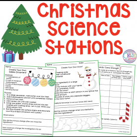 Newest Fun Science Lesson Plans Christmas Science Station Activities | Science Stations, Scienc