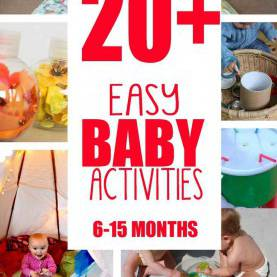Newest Learning Activities For Infants And Toddlers 20+ Fun & Easy Baby Activities | Babies, Baby Play And Infant Tod