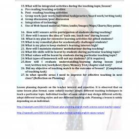 Newest Lesson Plan Format In English Lesson Plan Outline Sample - Commonpenc
