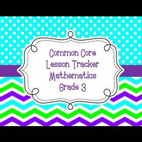 Newest Lesson Plan In Math Grade 3 Common Core Lesson Plan Organizers For Math And Ela   Schola