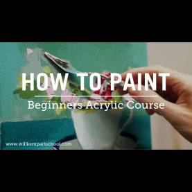 Newest Painting Lessons For Beginners Beginners Acrylic Painting Course (New) - You