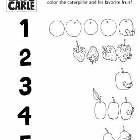 Newest Pre-K Lesson Plans For The Very Hungry Caterpillar 6) Activity: Connect The Fruit! Very Hungry Caterpillar Activit