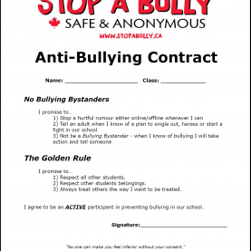 Regular 2Nd Grade Lesson Plans On Bullying Anti-Bullying Contract (Printable) ~ The Anti-Bully