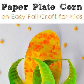 Regular Harvest Crafts For Preschoolers Paper Plate Corn: Easy Harvest Craft For Kids To Make - | Farmin