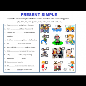 Regular Lesson Plan For Teaching Simple Present Tense Present Simple Tense | Worksheets, Teaching Resources And Stud