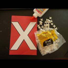 Regular Preschool X-Ray Lesson Plans Letter Of The Week ~ X ~ X Tile Spacers - A Mom With A Lesson Pla