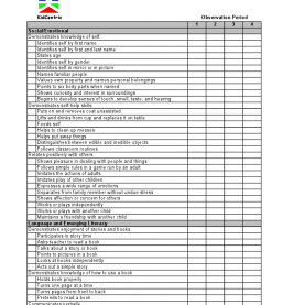 Regular School Age Lesson Plans For Daycare Assessment 2 Year Old Page 1 Of 3 | Assessment Ideas | Pinteres