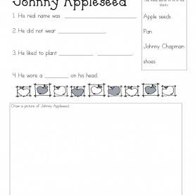 Simple 1St Grade Johnny Appleseed Lesson Plans Apples I'M Pretty Sure Most Kinder, 1St Grade And 2Nd Grad