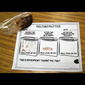 Simple 1St Grade Lesson Plans On Matter Melting Matter - Changing States Of Matter With Chocolate - Kiddo