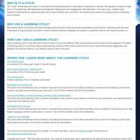 Simple 5E Learning Cycle Lesson Plan The Learning Cycle, Lesson Planning, The 5E'S Model   Schoo
