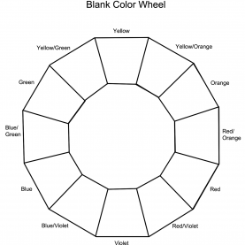 Simple Color Wheel Lesson Plan 12 Section Colour Wheel | Free Pictures | Painting | Pinteres