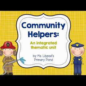 Simple Community Helpers Unit Lesson Plans Community Helpers Unit & A Funny! - Learning At The Primary