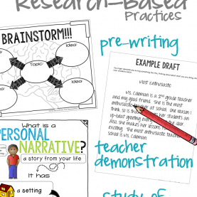 Simple Demo Lesson Ideas 2Nd Grade Personal Narrative Writing Unit - The Classroo