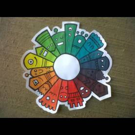 Simple Elementary Art Lesson Plans Color Theory Color Wheel Lesson Color Theory Mixing Color... All They Get Fo